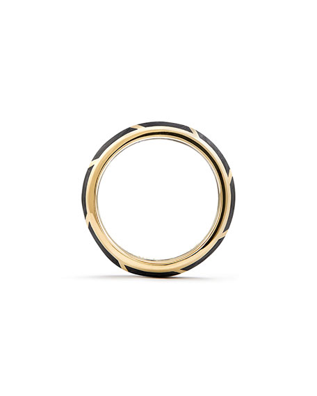 Men's Forged Carbon Ring, 8.5mm