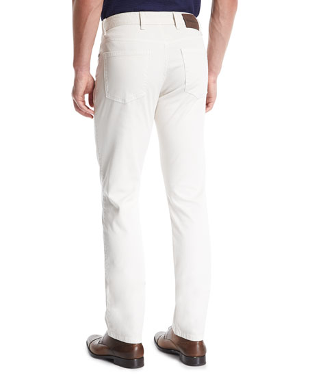 New Pique Five-Pocket Pants