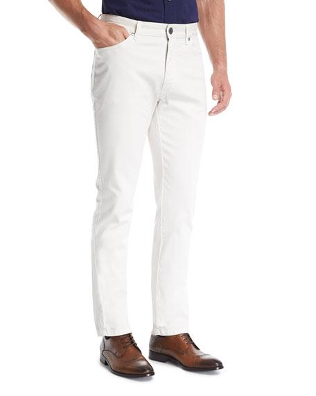 New Pique Five-Pocket Pants