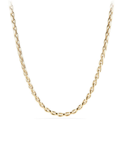 Men's 18k Box Chain Necklace, 22