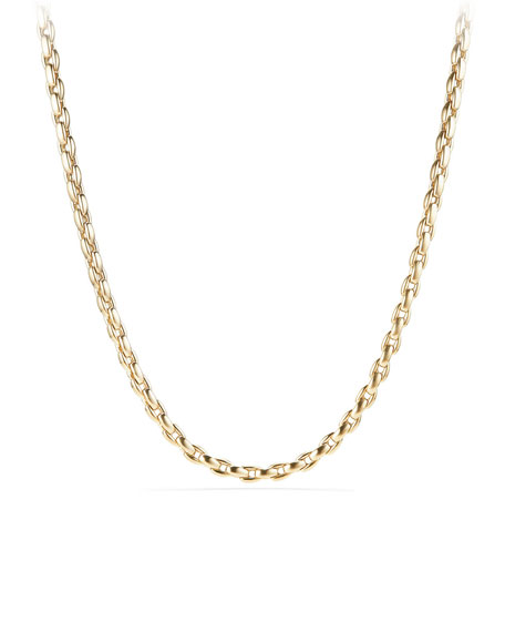 David Yurman Men's 18k Box Chain Necklace, 22