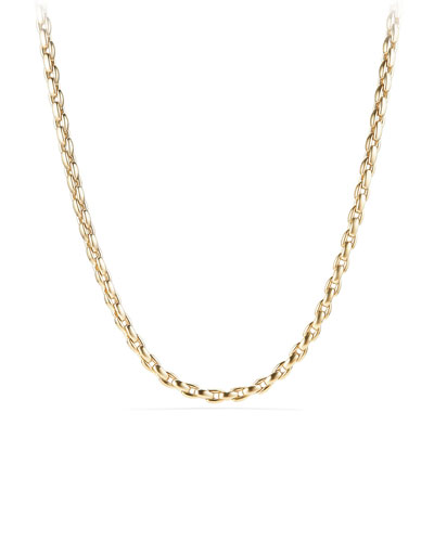 Men's 18k Box Chain Necklace, 24
