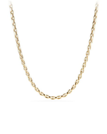David Yurman Men's 18k Box Chain Necklace, 24