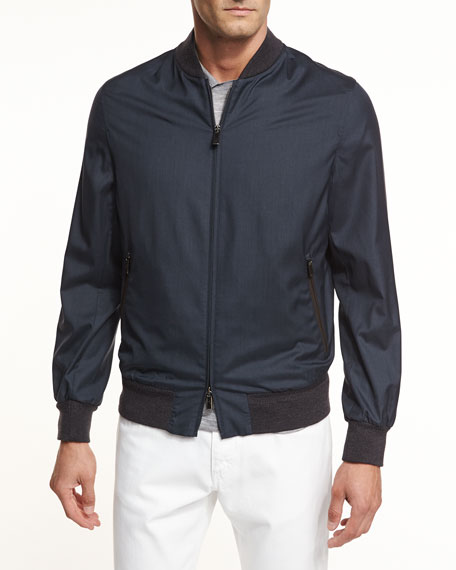 Second Skin Lightweight Bomber Jacket