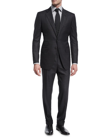 TOM FORD O'Connor Base Broken Twill Two-Piece Suit