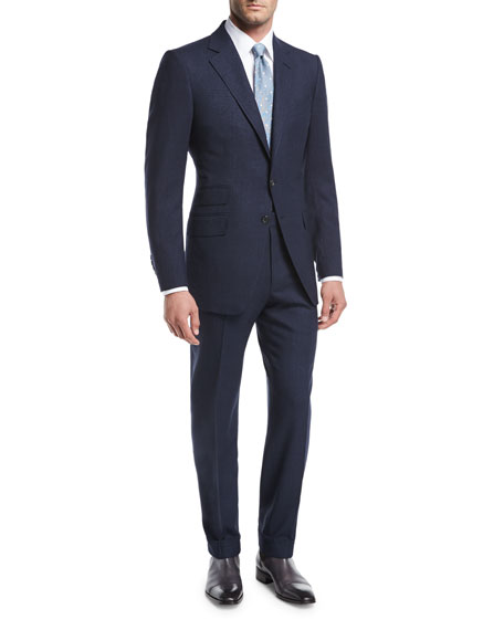 TOM FORD O'Connor Base Wool-Silk Two-Piece Suit