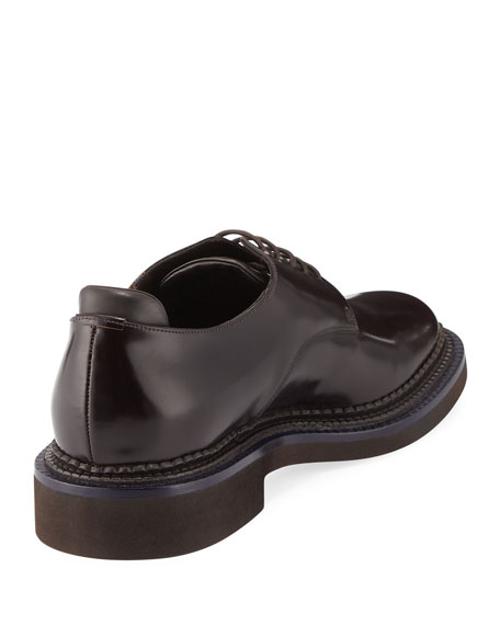 Bench Leather Two-Tone Derby Shoe, Brown