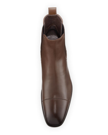 Rodrigo Leather Chelsea Boot, Brown