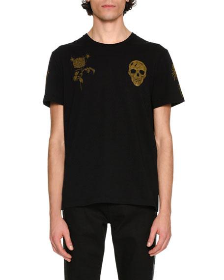 Alexander McQueen Classic House Emblems T-Shirt