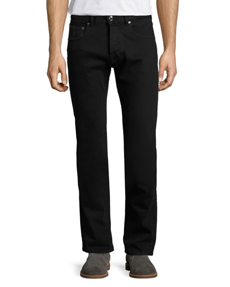 Etro Regular-Fit Straight-Leg Jeans, Black