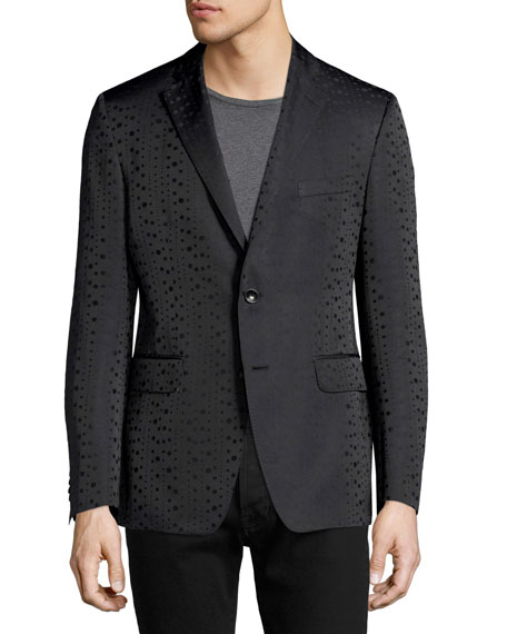 Ombre Dot Evening Jacket