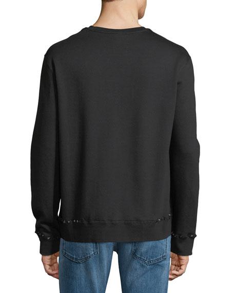 Valentino 'Rockstud' sweatshirt Cheap Eastbay NwawNf