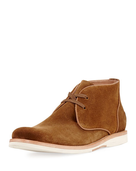 John Varvatos Brooklyn Suede Chukka Boot, Brown