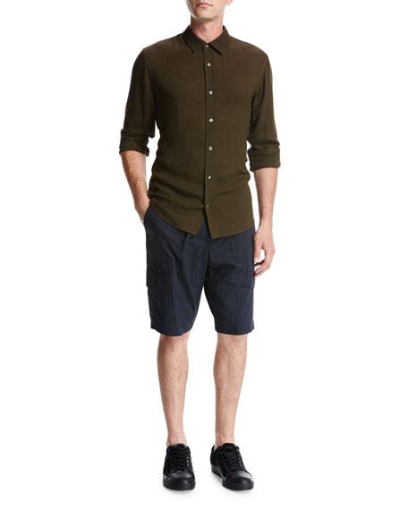 Drawstring Utility Shorts