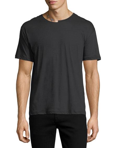 Safety Pin Cotton T-Shirt