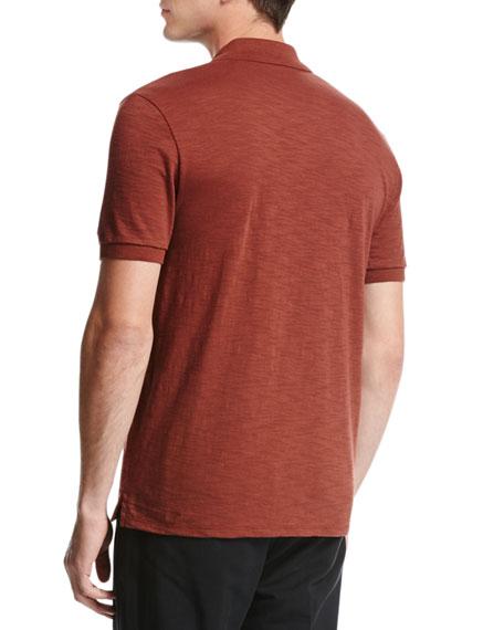 Classic Cotton Slub Polo Shirt
