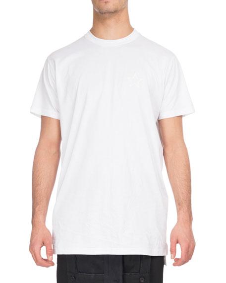 Givenchy Tonal-Star Crewneck T-Shirt