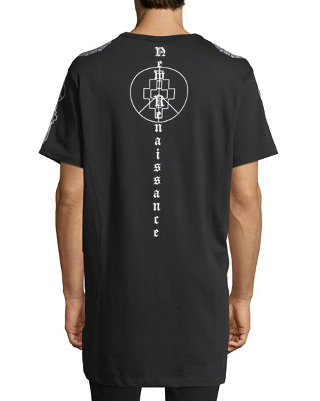Renaissance Cross Long T-Shirt