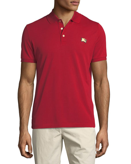 Burberry Talsworth Cotton Pique Polo Shirt