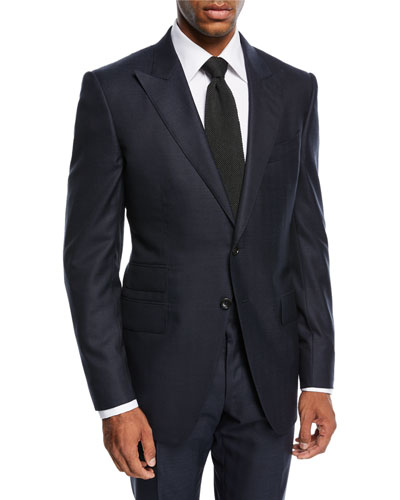 O'Connor Herringbone Wool Suit