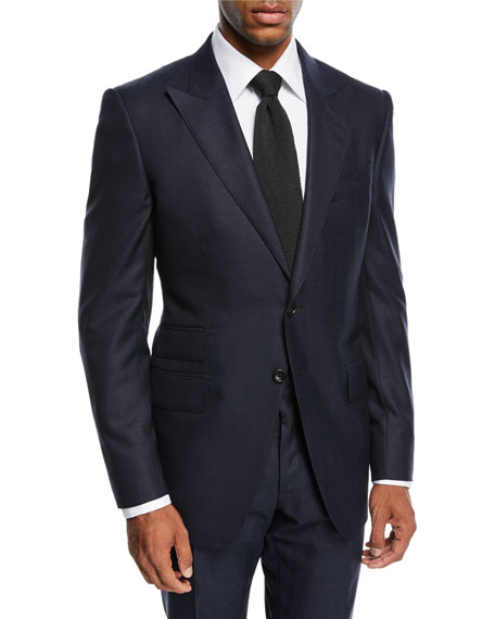 TOM FORD O'Connor Herringbone Wool Suit