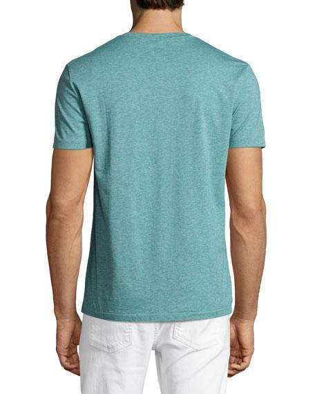 Lindon V-Neck T-Shirt, Green