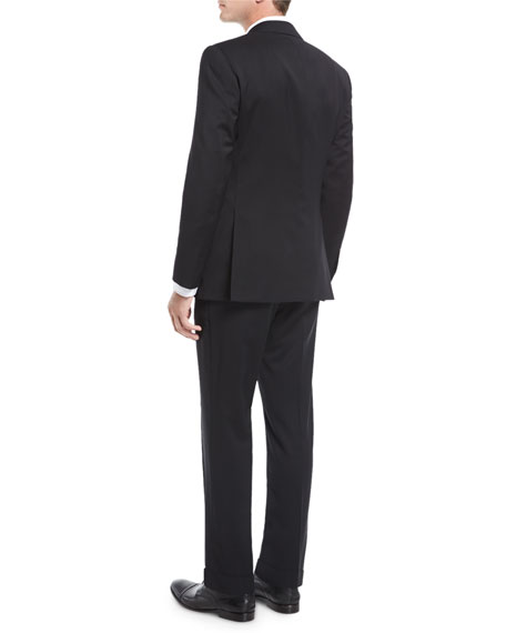 Anthony Wool Serge Two-Piece Suit