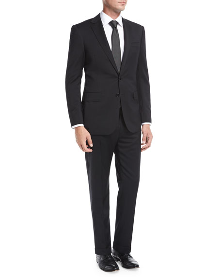Ralph Lauren Anthony Wool Serge Two-Piece Suit