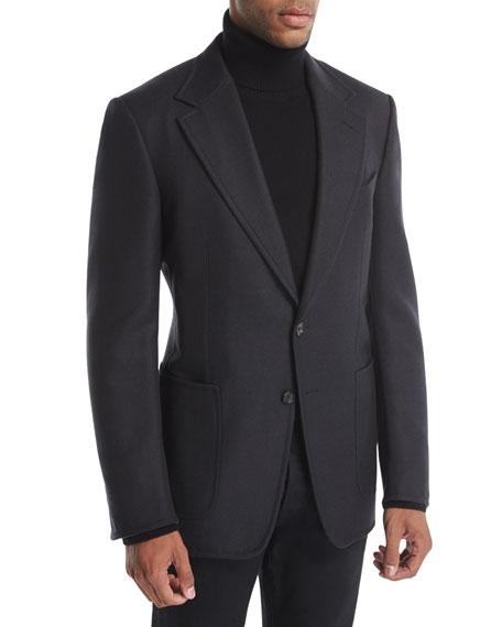 Shelton Base Double-Face Wool Sport Jacket