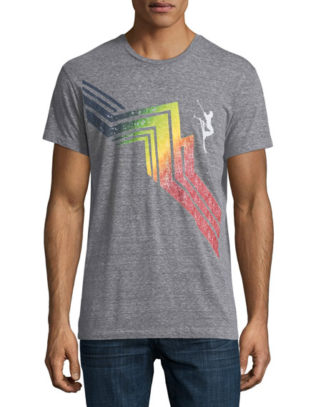 Sol Angeles Cascade Mountain Slub Crewneck T-Shirt