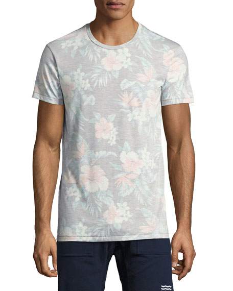 Palmita Faded Floral T-Shirt, Multicolor