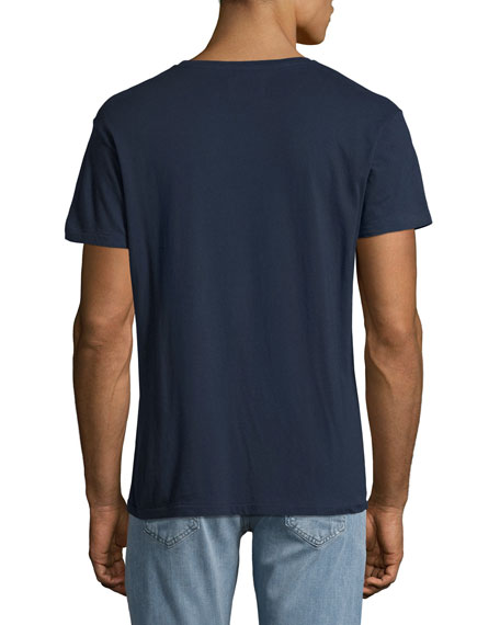 Living the Dream Seagull T-Shirt, Indigo