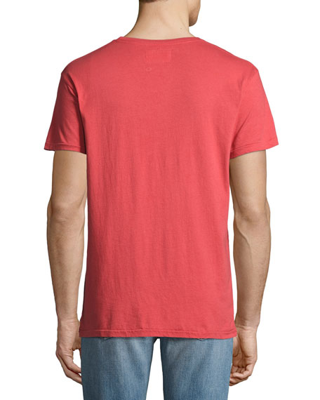 Drink Up Crewneck T-Shirt, Red