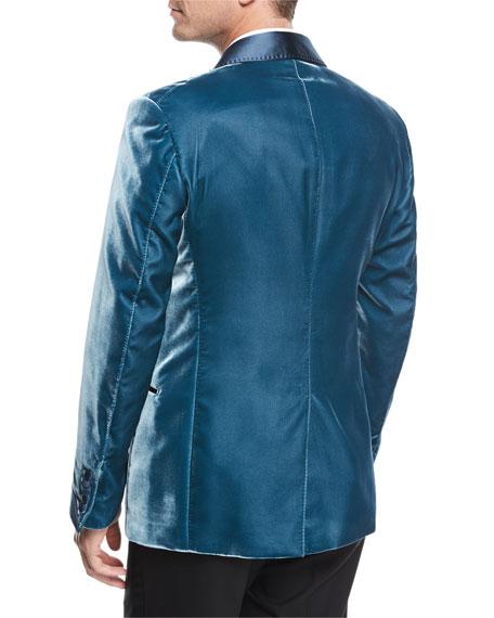 Shelton Liquid Velvet Evening Jacket