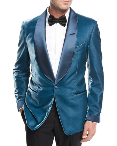 Shelton Liquid Velvet Evening Jacket
