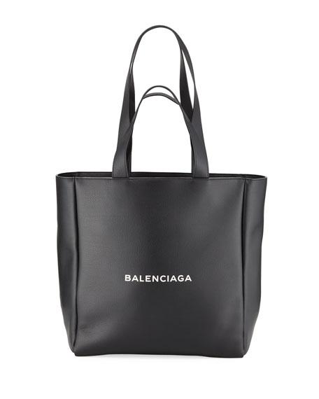 Balenciaga Men's Medium East-West Leather Tote Bag