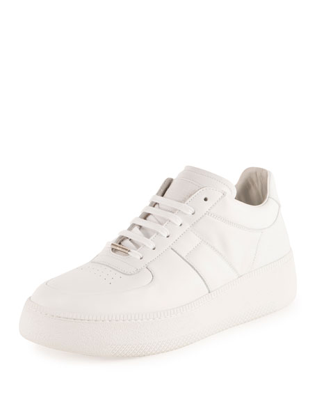 Maison Margiela Men's MM1 Low-Top Sneaker, White