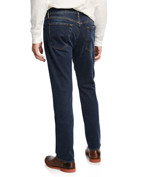 Men's Luxe Performance: Straight-Leg Jeans, Influx