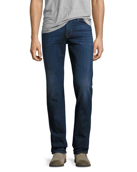7 For All Mankind Slimmy Slim Jeans, Dark