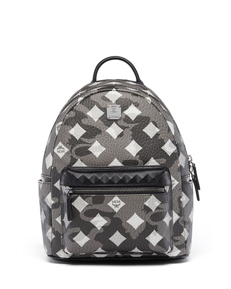 MCM Stark Munich Lion Camo Backpack