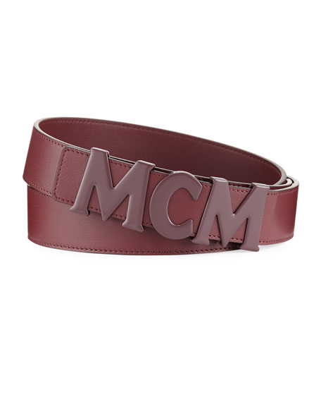 MCM Letter Collection Belt
