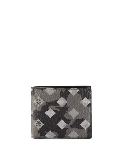 Otto Munich Lion Camo Bi-Fold Wallet