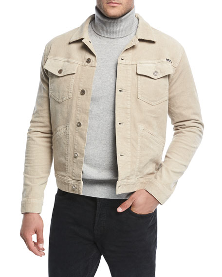 TOM FORD Corduroy Jean Jacket