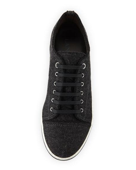 Men's Virgin Wool Low-Top Sneakers