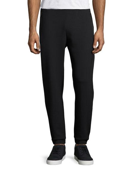 Ponte Jogger Track Pants, Navy