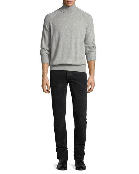 5-Pocket Slim-Leg Corduroy Pants