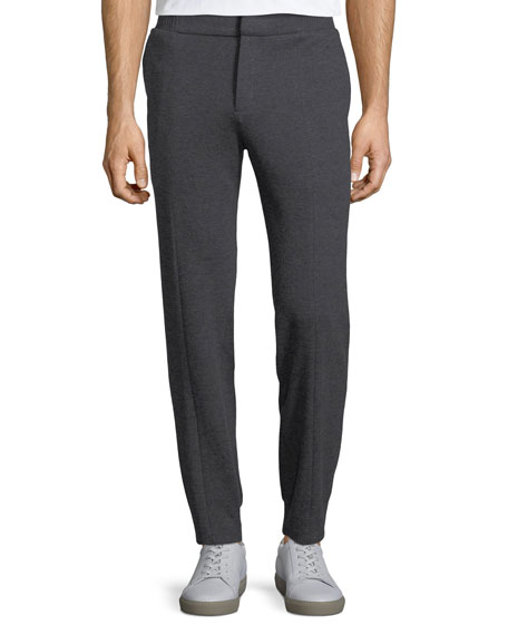 Cotton Trouser-Style Jogger Pants