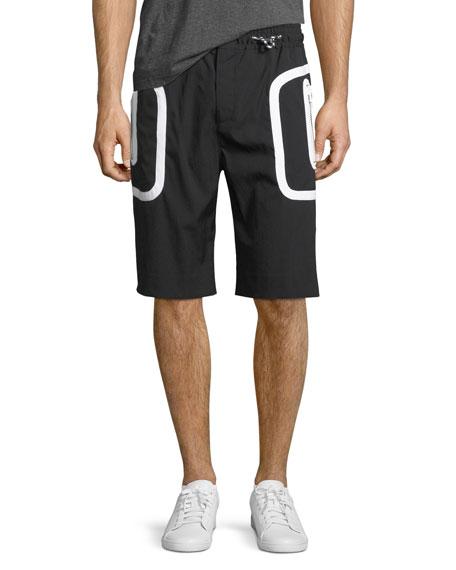 Givenchy Drawstring Athletic Shorts
