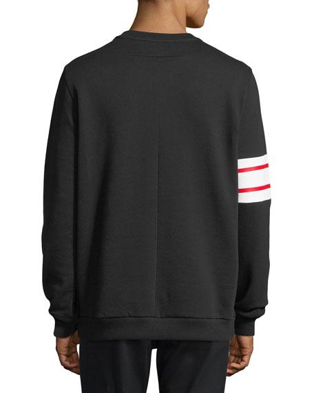 Stars & Stripes Cotton Fleece Sweatshirt