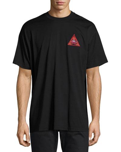 Real Eyes Columbian-Fit T-Shirt, Black